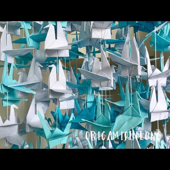 Origami Crane Chain   ArtClubBlog   580x580
